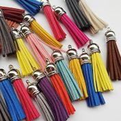 Chenkou Craft 20pcs Mix Colour Hand Craft Tassel Pendant Trimming Craft Embellishment 55mm