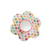 M-Egal Waterproof Newborn Baby Toddler Feeding Cloths Floral Star Shape Baby Bibs #12