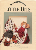 """DreamSpinners Pattern 420cm Little Bits"""" Bean Bag Doll and Patchwork Quilt"""