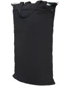 Wegreeco Reusable Hanging Wet Dry Cloth Nappy Bag [Black]