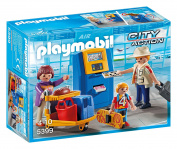 Playmobil 5399 City Action Family at Cheque-In Playset