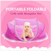 Bersun travel crib ,baby tent, baby bed ,Instant Pop Up Portable Baby Travel Bed Mosquito Net