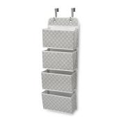 Delta Children Deluxe 4 Pocket Water-Resistant Organiser, Infinity/Grey