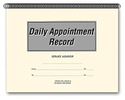 Flywheel - Daily Appointment Record Book