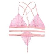 Underwear, Bokeley 1 Sexy Lingerie Set Lace Bra +Thongs Briefs G-string