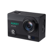AUKEY Action Camera, 4K Ultra HD Waterproof Sports Camera with WiFi Phone Connexion and 2.4GHz Remote