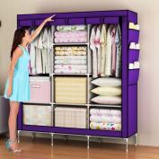 Amanda Home Portable Clothes Closet Non-woven Fabric Wardrobe Storage Organiser (Colour