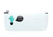 Hosaire Pencil Case Elegant Canvas Pen Case Stationery Pouch Bag Case Cosmetic Bags