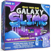 Make Your Own Galaxy Slime! Purple And Blue Glitter Slime! Includes Everything You Need! Twist And Create Magical Slime!