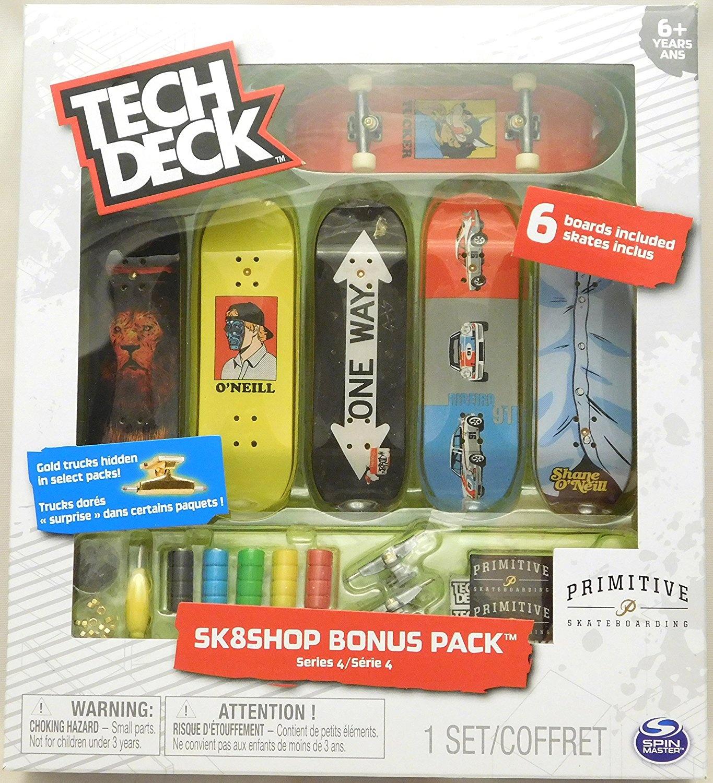 Tech Deck - Sk8shop Bonus Pack Series 4 - Primitive