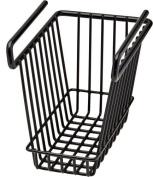 Snap Safe 76010 Hanging Shelf Basket Vault Organiser Black Small