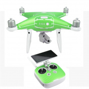 PVC Body Skin Wrap Sticker Decal + Controller Sticker For DJI Phantom 4 Pro Drone, Leewa