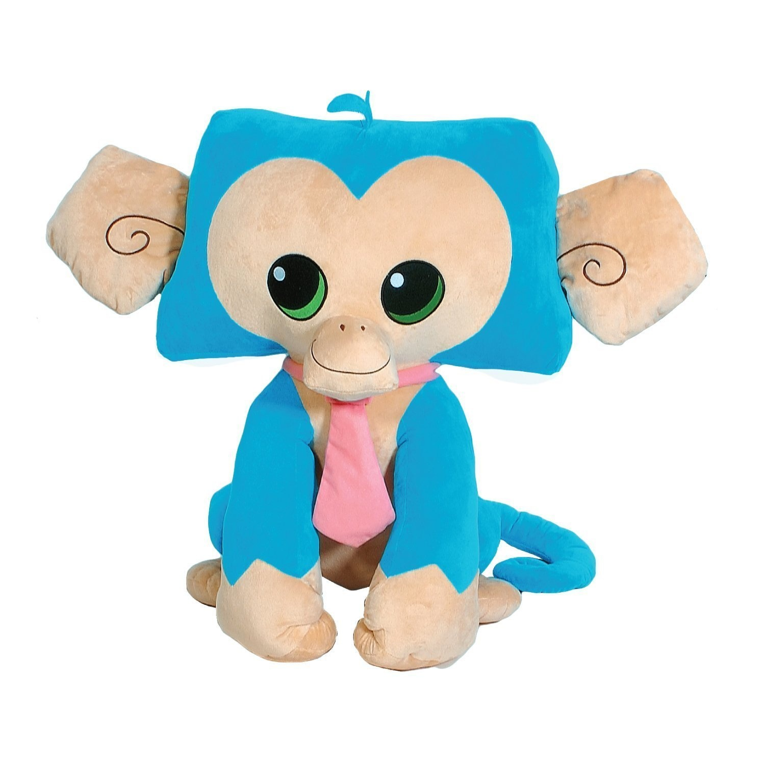 Animal Jam 18cm Blue Monkey Character Stuffed Plush Toy National Geographic  Popular Online Game