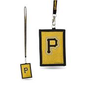 MLB Pittsburgh Pirates Beaded Lanyard I.D. Wallet
