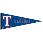 MLB Texas Rangers WCR63818812 Carded Classic Pennant, 30cm x 80cm