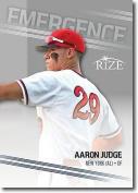 "AARON JUDGE 2013 LEAF ""EMERGENCE"" ROOKIE CARD #EM-8! NEW YORK YANKEES!"