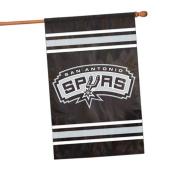 Party Animal Sports Team Logo San Antonio Spurs Applique Banner Flag