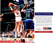 Dennis Rodman Signed - Autographed Chicago Bulls 8x10 Photo - PSA/DNA Certificate of Authenticity