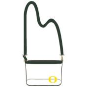 Capri Designs Women's University of Oregon Small Crossbody Bag, Black, One Size