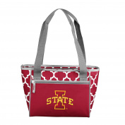 NCAA Iowa State Cyclones 16 Cooler Can Tote, Cardinal, One Size
