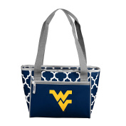 NCAA West Virginia Mountaineers 16 Cooler Can Tote, Navy, One Size