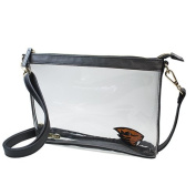 Oregon State University Beavers Capri Designs Clearly Fashion Licenced Clear Large Crossbody Meets Stadium Requirements