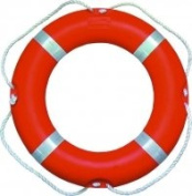 New Swimming Pool Rescue / Safety Polyethylene Outer Swim Lifebuoy Ring 2.5kg