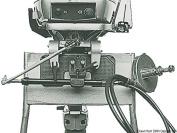 Osculati 45.147.00 - Stern mounting plate