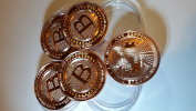 Bitcoin Copper Coins-5 Pack