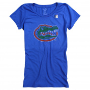 Women's Slim Fit NCAA 100% Cotton Super Soft Mascot Logo T-Shirt