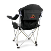 NCAA Cornell University Digital Print Reclining Camp Chair, Black, One Size
