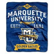 Northwest 1COL670000115RET Marquette Label Raschel Blanket