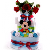 Mickey Mouse nappy cake gift large nappy cake baby boy gift idea baby shower gift corporate gift idea