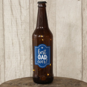 Gift For Dad - Best Dad Ever Light Up Beer Bottle LED