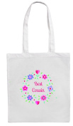 BEST COUSIN Shopping/Tote/Bag For Life/Shoulder Bag By Mayzie Designs®
