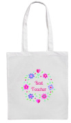 BEST TEACHER Shopping/Tote/Bag For Life/Shoulder Bag By Mayzie Designs®