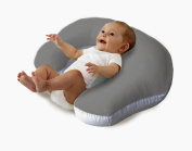 Love2Sleep BABY FEEDING/ NURSING PILLOW HOLLOWFIBRE FILLED FOR COMPLETE SUPPORT PLAIN COVER