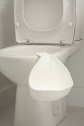 Tippitoes Child Toddler Toilet Side Potty Plastic Trainer Wee White Trendy