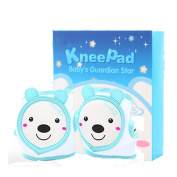 TAMUME Ultra-Soft Baby Crawling Knee Pads and Elbow Protector with Adjustable Hook and loop Tapes, Made of Cotton and Polyster, Protected for Toddler and Baby Walking and Stepping