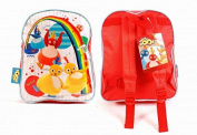 Character Twirlywoos PVC Front Backpack For Kids Great BigHoo, Toodloo, Chickedy, Chick and Peekaboo
