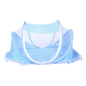 Zhuhaixmy Baby Mosquito Net Bed Portable Folding Stent Crib Travel Bed Tent With Pillow