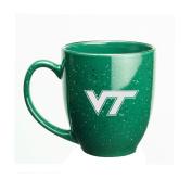Virginia Tech Hokies 440ml Deep Etched Green Bistro Mug