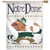 Notre Dame Fighting Irish Vault Throwback Retro Vintage House Flag