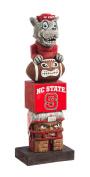 NCAA North Carolina State Wolfpack Tiki Totem