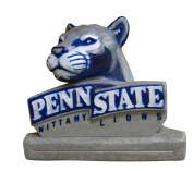 Stone Mascots - Penn State Nittany Lion College Stone Mascot