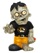 Forever Collectibles NCAA Resin Zombie Figurine, University of Missouri Tigers