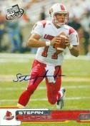 Stefan LeFors autographed Football Card (Louisville) 2005 Press Pass #6 Rookie - College Cut Signatures