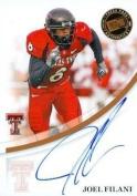 Joel Filani autographed Football Card (Texas Tech) 2007 Press Pass - College Cut Signatures