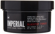 Imperial Barber Products Black Top Pomade Strong Hold Waterbase Wax 180ml 177 G