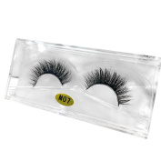 False Eyelashes,Clode® 1 Pair Makeup 3D Natural Multi Layer Thick Handmade Messy Cross Long False Eyelashes